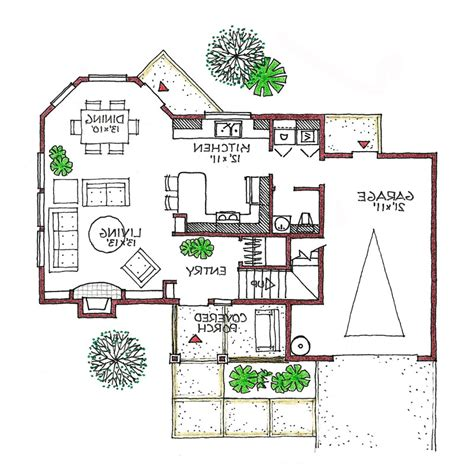 energy efficient small house floor plans bungalow space solar and energy efficient home