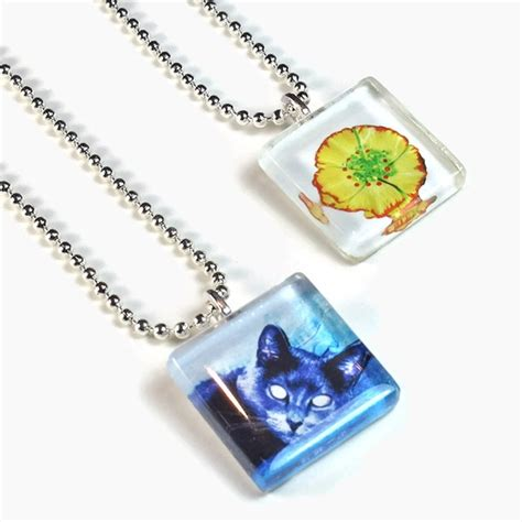 glass tiles for jewelry diy glass tile pendants tutorial jewelry beaing projects