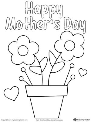 preschool mothers day card template s day card cards and