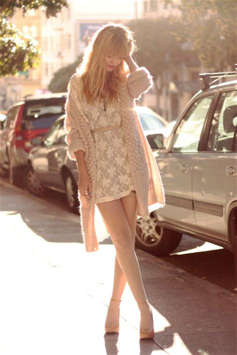 white dresses beige shoes pink sweaters quot the lighter