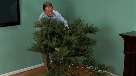 how to take down an artificial christmas tree monkeysee