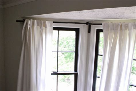 Curtains Corner Windows Ideas Corner Window Curtain Rod Style Cabinet Hardware Room Popular Corner Window Curtain Rod