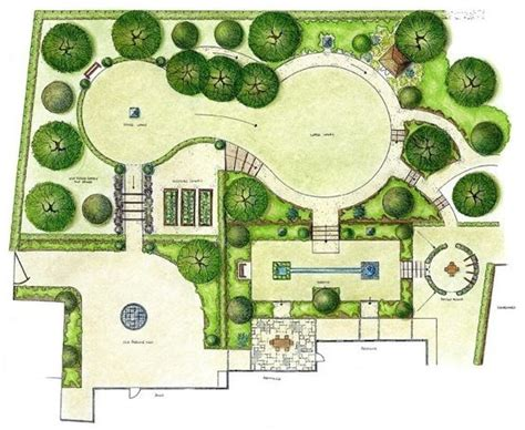 home garden design layout rocks dwg landscape google search landscaping