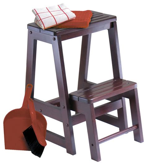 Bar Stool Step Stool step stool modern ladders and step stools by modern furniture warehouse