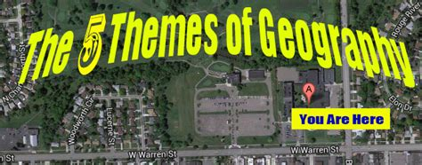 5 themes of geography michigan 5 themes of geography social studies