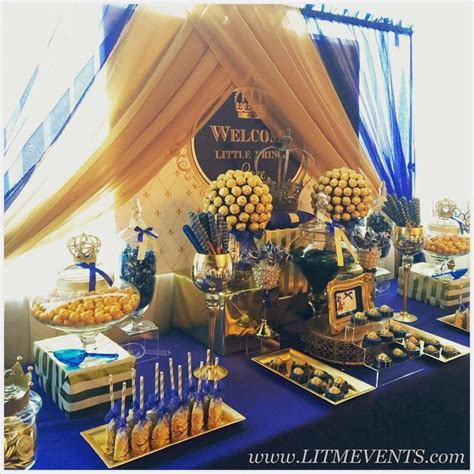 Royal Prince Themed Baby Shower Wholesale by Royal Prince Royal Prince Baby Shower Buffet