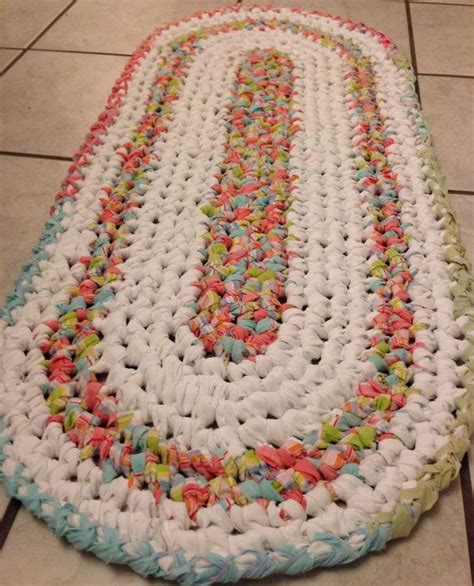 17 Best Images About Rag Rugs On Pinterest Trapillo Rag How To Crochet A Rag Rug
