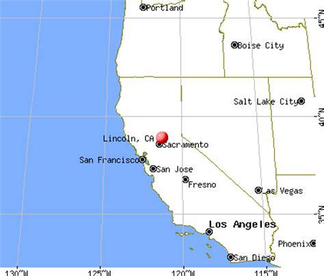 zip code for lincoln california lincoln california map