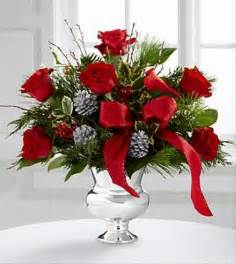 christmas flower arrangement the florister