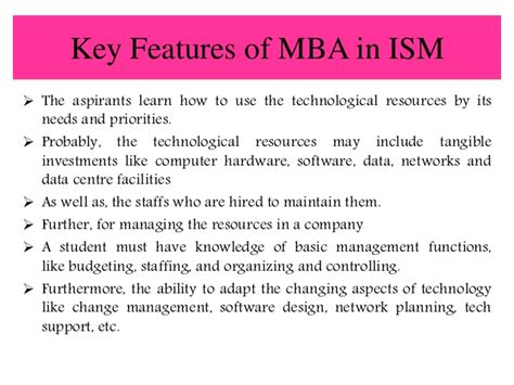 Mba System Management by Smu Distance Learning Mba In Information System Management