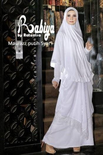 Gaun Pesta Gamis Terbaru Baju Pesta Ceruty Latifah Fs2476 Pashmina maurazz syari by rabiya putih baju muslim gamis modern
