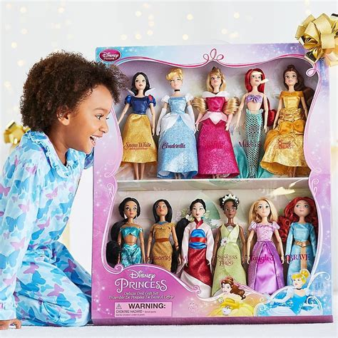 Disney Set Princess disney classic 11 princess doll collection gift set
