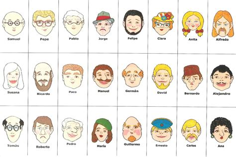 guess who card template 8 best images of guess who printable cards guess