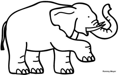orejas de elefante para colorear elefantes para colorear