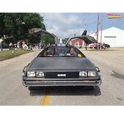 Back To The Future Car For Hire Participates At Ogden Fun