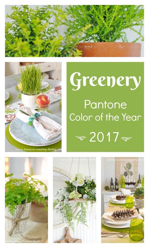 pantone s color of the year 2017 pantone greenery 2017 color of the year town country
