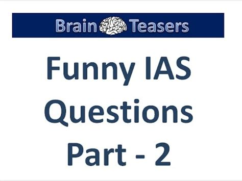 Brain Teaser Mba Interviews by Top 10 Tricky Questions Asked In Ias Interviews From
