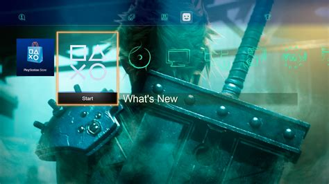 ps4 themes on pc pc version of final fantasy 7 is available on ps4 today