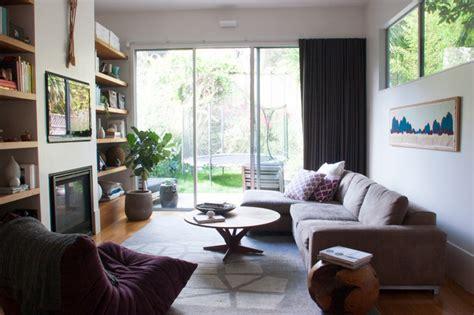 Transitional Living Room Houzz My Houzz 1896 Home Gets A Contemporary Lift