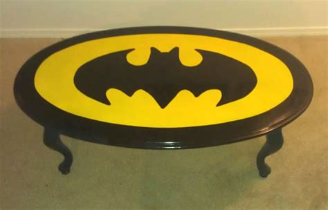 Batman Coffee Table Holy Table Batman 10 Batman Symbol Tables Riot Daily
