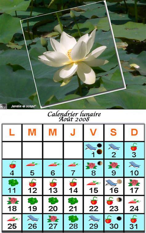 Calendrier Lunaire Novembre 2008 Jardiner Avec La Lune Au Mois D Ao 251 T 2008 Le