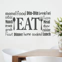 wall stickers kitchen eat wall word vinyl decal kitchen decor restaurant wall
