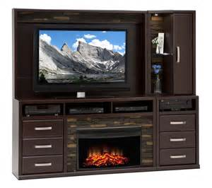 gamble 5 fireplace entertainment unit bordeaux