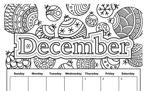 december coloring pages december coloring calendar printable sketch coloring page