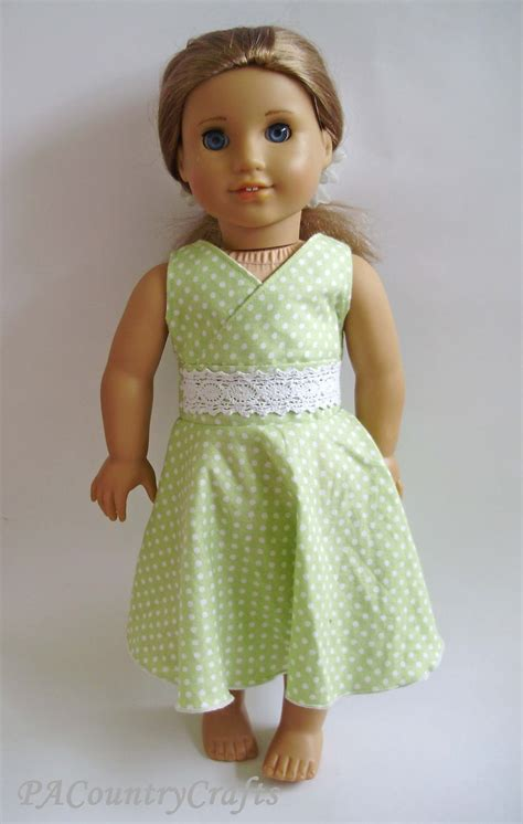 Dress A Doll Template by Twirly Lace Doll Dress Pattern Pa Country Crafts