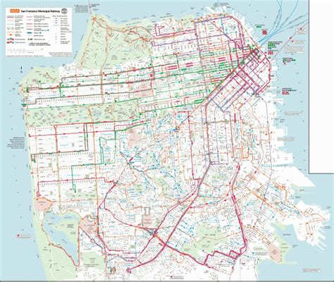san francisco muni map pdf muni san francisco map