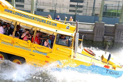 boat transport uk prices london duck tours exciting hibious tours of london