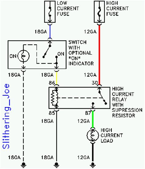 anyone a bosch 75 relay wiring diagram ford