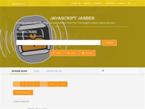 xmpp tutorial javascript 29 best podcasts for web developers web development