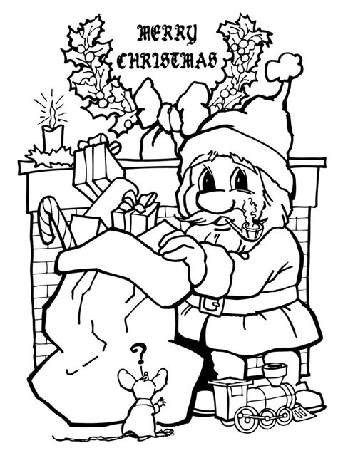 Coloring Books | Twas Night Before Christmas Really Big