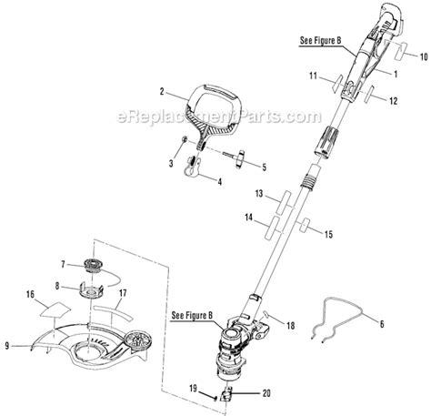 ryobi string trimmer parts diagram ryobi 990r 411088141 string trimmer parts autos post