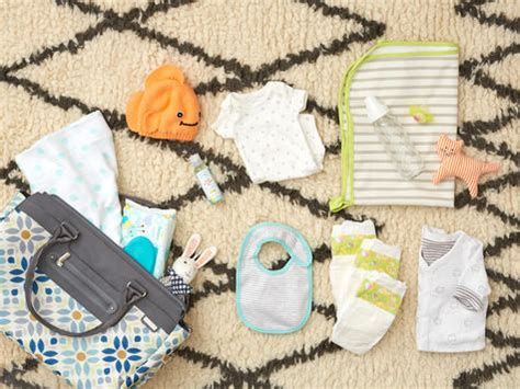 checklist what to put in your bag babycenter