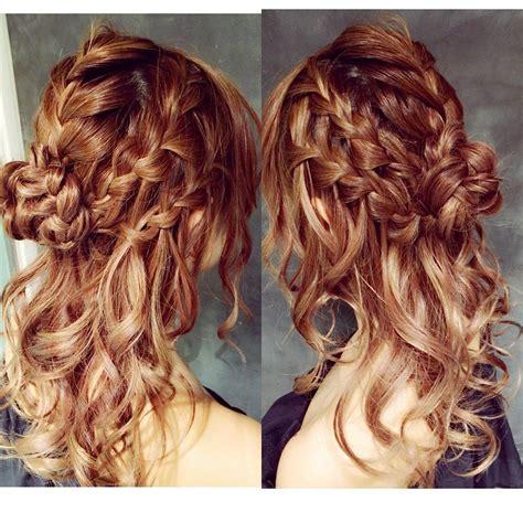 Coiffure Sur Cheveux Mi by Coiffure Facile A Faire Sur Cheveux Mi