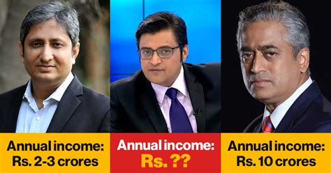 Highest Paid Journalist by 5 Highest Paid Indian Television Journalists And Their