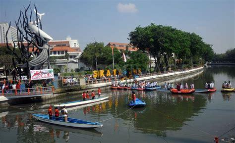 Air 2 Di Surabaya sungai kalimas tahun depan jadi obyek wisata air di