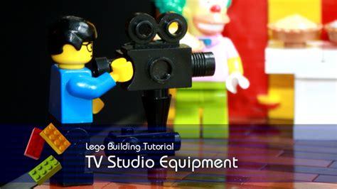 lego tutorial tv lego tutorial building tv studio equipment from the