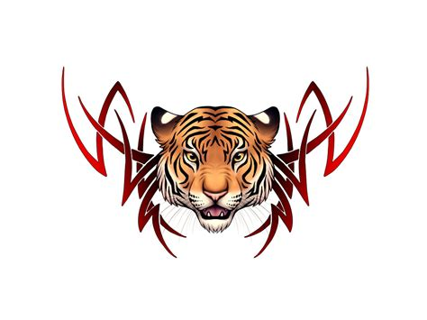 fire tiger tattoo designs free tiger free clip free clip