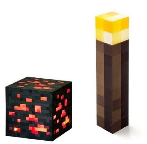minecraft light up torch and redstone ore gadgets matrix