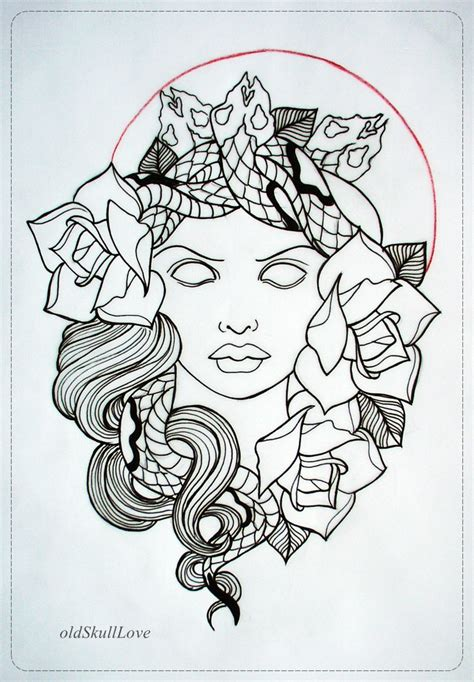 tattoo designs outlines design outlinedenenasvalencia