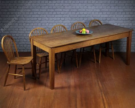 10 seater kitchen dining table c 1910 antiques atlas - 10 Seater Kitchen Table