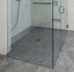 curbless shower image 8 lou vaughn remodeling