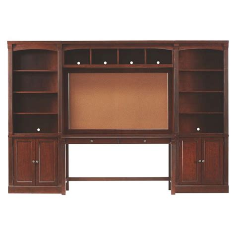 home decorator home depot home decorators collection edinburgh 7 piece espresso modular office suite 3062400800 the home