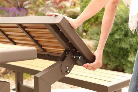 convertible picnic table bench vinyl lifetime convertible picnic table bench patio table