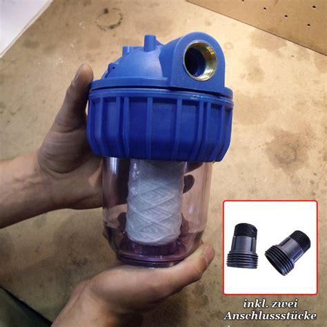 wasserfilter garten wasserfilter 3000l h 2 54cm 1zoll pp filter ihp
