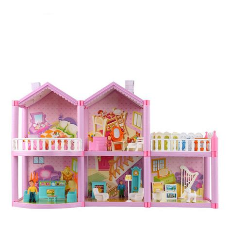 big wooden dolls house doll house big large furniture miniatures diy doll houses