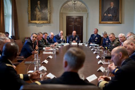 What Are The Cabinet File Barack Obama Meets Combatant Commanders In The